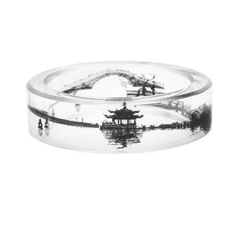 Lake Clear Resin Ring
