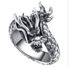 Free Dancing Dragon Ring