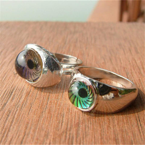 Eye-Shaped Mood Ring