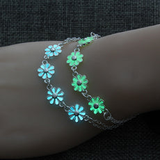 Flower Glow in the Dark Bracelet