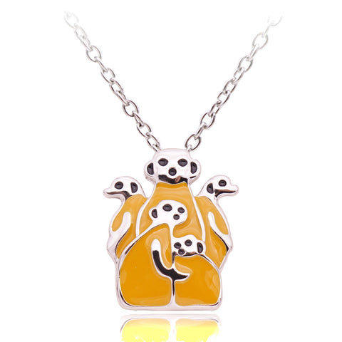 Free Meerkat Necklace (2 Color Styles)