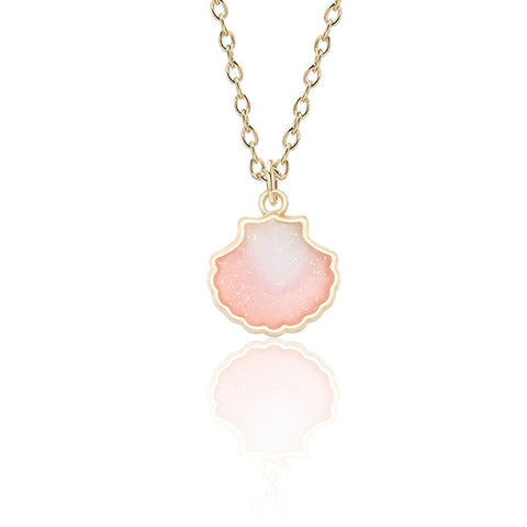 Shell Enamel Necklace