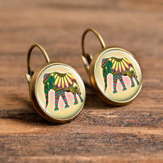 Animal Art Earrings