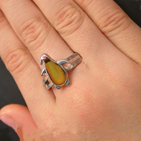 Penguin Mood Ring