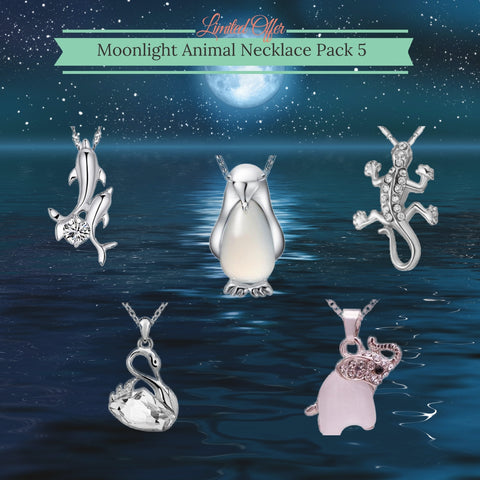 Moonlight Animal 5 Necklace Pack