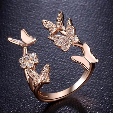 Flying™ Butterfly Ring