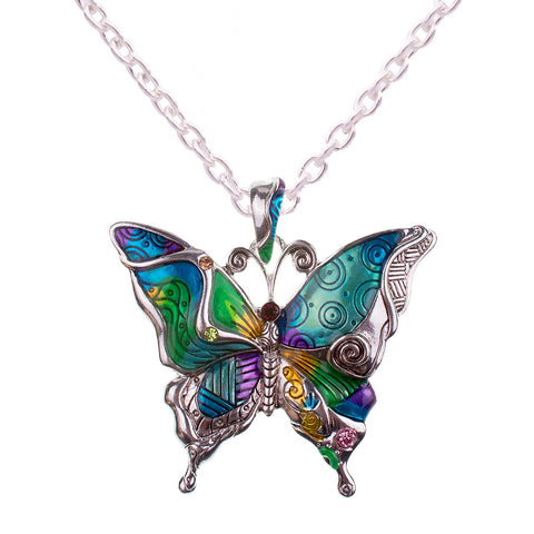 Wholesale Butterfly Necklace (12x Pack)