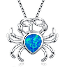 Free Opal Crab Necklace