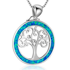 Free Opal Tree of Life Necklace