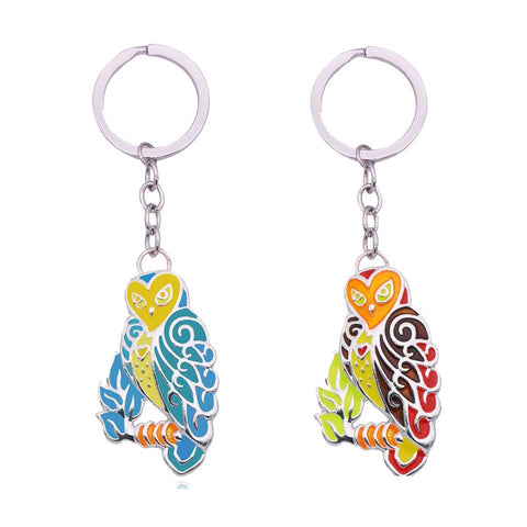 Wholesale Owl Keychain (12x Pack)
