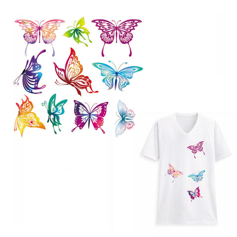 Free Butterfly Stickers for Clothes