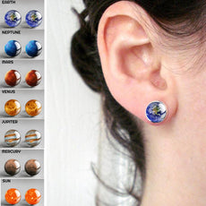 Planet Stud Earrings