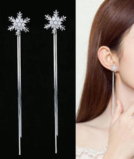 Free Snowflakes Earrings