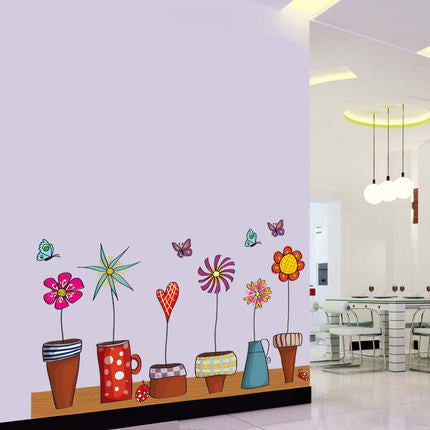 Butterfly&Flower Wall Sticker