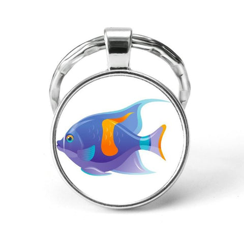 Fish Animal Keychain