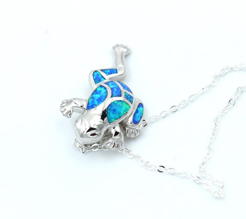 Frog Opal Necklace