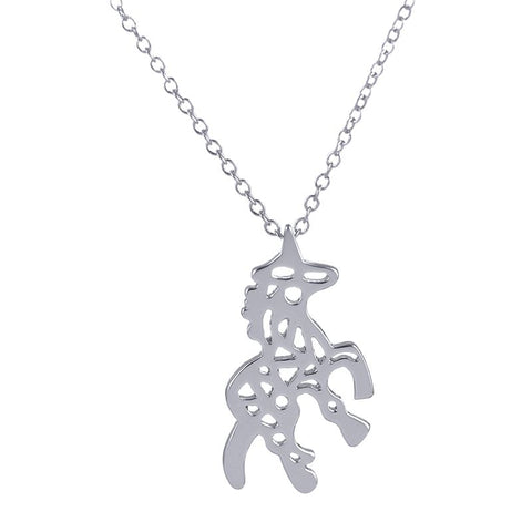 Minimalist Unicorn Necklace