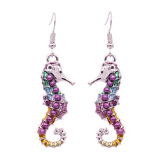 Free SeaHorse Earrings