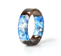Paper and Resin Wood Ring