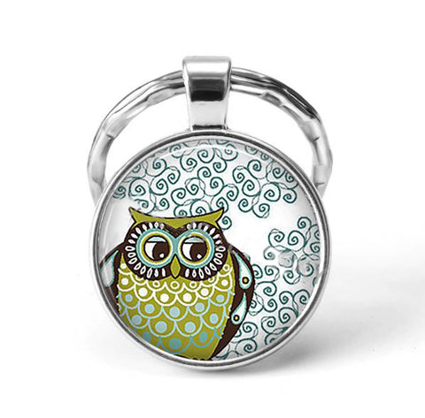 Owl Animal Keychain