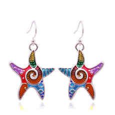 Free Starfish Earrings