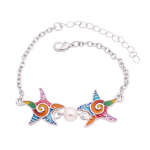 Wholesale Starfish Bracelet (12x Pack)