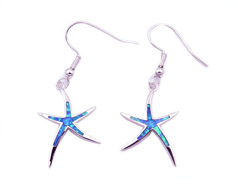 Add these opal starfish matching earrings for just $17.95