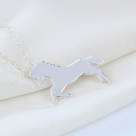 Free Joyful Horse Necklace