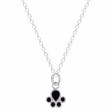 925 Sterling Silver Paw