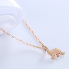 Dainty Dinosaur Necklace