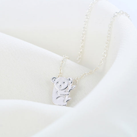 Hugging Koala Bear Necklace
