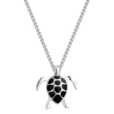 Turtle Silver Necklace
