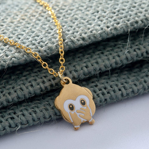 Free Monkey Animal Necklace