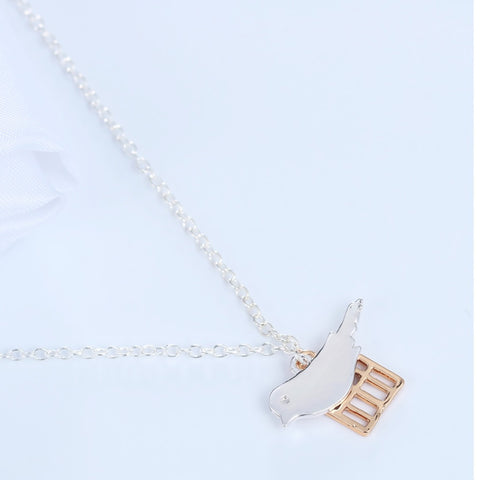 Birds Must be Free Necklace
