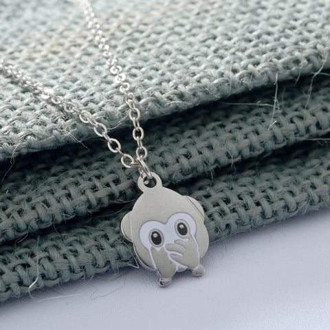 Monkey Animal Necklace