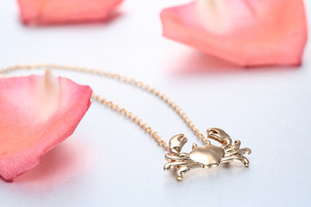 Free Cute Crab Necklace