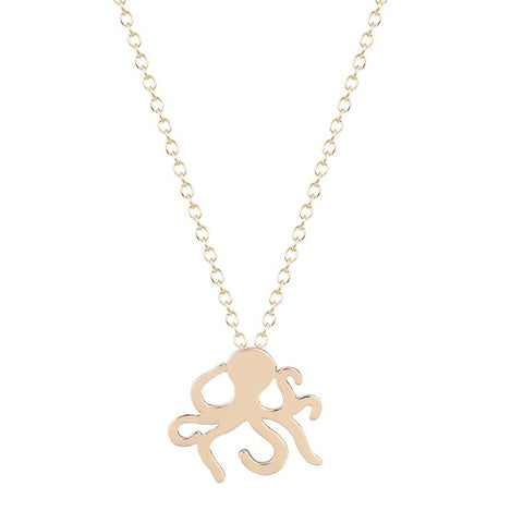 Free Ocean Octopus Necklace