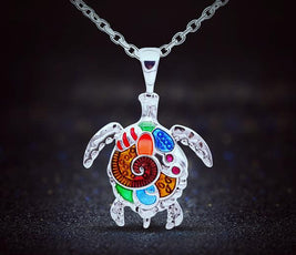 Turtle Necklace (3 Color Styles)