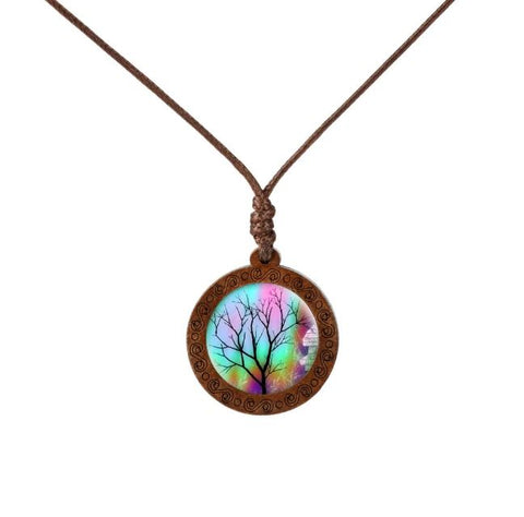 Remarkable Tree Wood Necklace