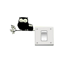 Owl Mom And Baby Wall Stickers