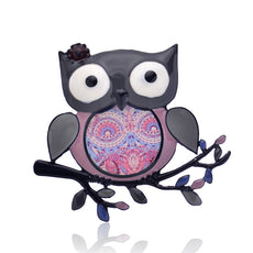 Cute Owl Brooches