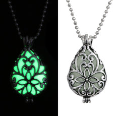 Glow in the Dark Love Necklace