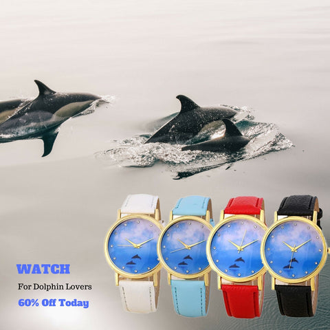 Swimming Dolphin Watch