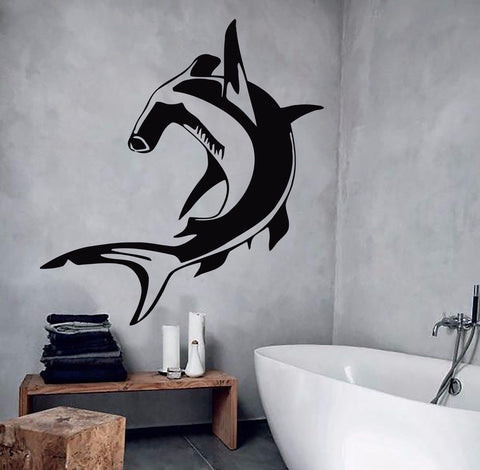 Hammerhead Shark Wall Decor Sticker
