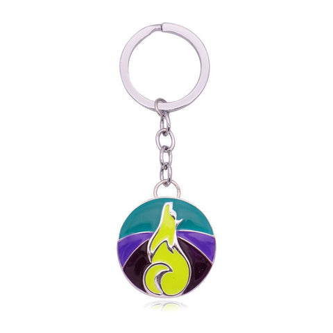 Wholesale Wolf Keychain (12x Pack)