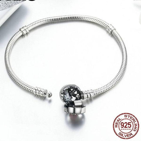 Flowers in bloom Silver Bracelet