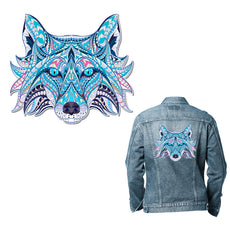 Free Wolf Sticker for Clothes