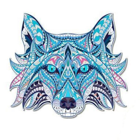 Wolf Sticker for Clothes