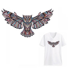 Free Flying Owl Sticker for Clothes