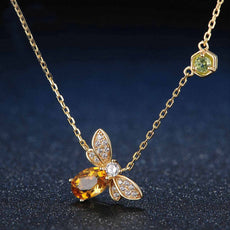 Sterling Silver Bee™ Necklace